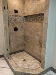 Watch furthermore Colores Para Banos moreover 1920s Art Deco Bathroom also Shower Panels as well Cost To Convert A Tub Into A Walk In Shower. on bathroom wall tile designs photos