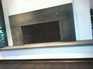 Custom Fireplace Refacing